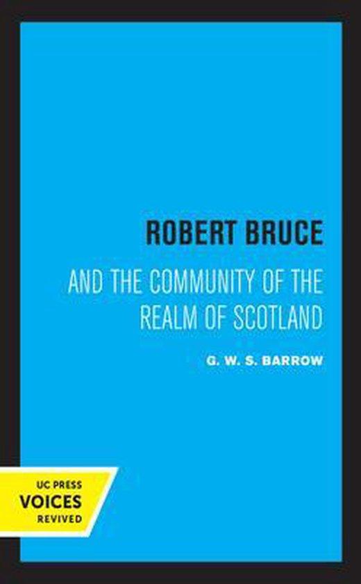Boek cover Robert Bruce van G.W.S. Barrow (Hardcover)