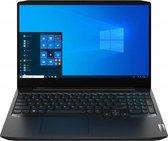 "Lenovo IdeaPad Gaming 3 Notebook 39,6 cm (15.6"") 1920 x 1080 Pixels AMD Ryzen 5 16 GB DDR4-SDRAM 512 GB SSD NVIDIA® GeForce® GTX 1650 Ti Wi-Fi 5 (802.11ac) Windows 10 Home Zwart"