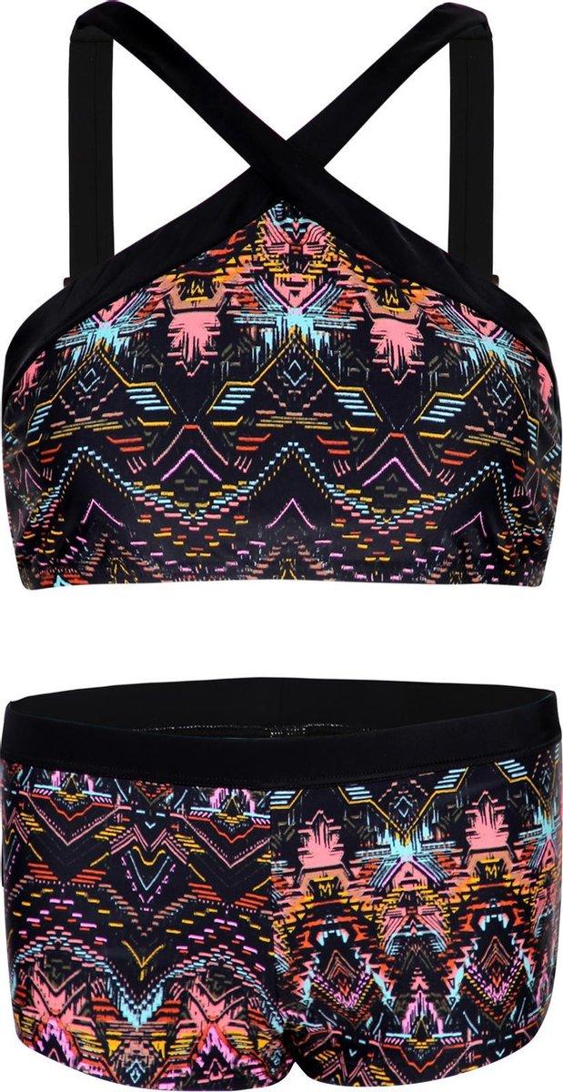 Bikini hipster broekje en crop top met brede bandje Ibiza 164-170