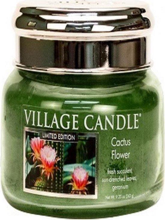 Village Candle Cactus Flower Geurkaars in Glas (55 branduren)
