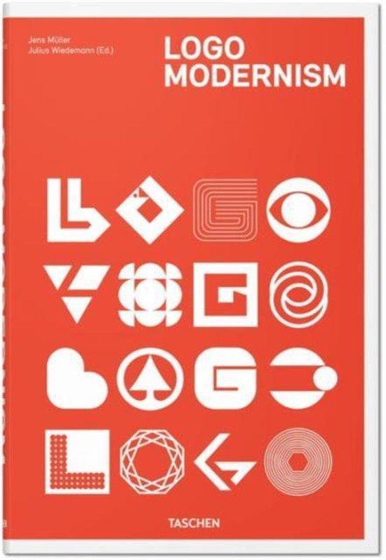 Boek cover Logo Modernism van Jens Müller (Hardcover)