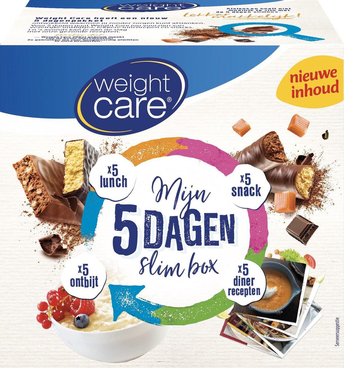 Weight Care 5 Dagen Slimbox Dieetpakket