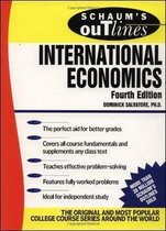 Boek cover Schaums Outline of International Economics van Dominick Salvatore