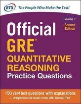 Boek cover Official GRE Quantitative Reasoning Practice Questions, Second Edition, Volume 1 van Educational Testing Service