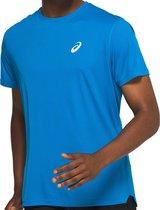 Asics Sportshirt - Maat L  - Mannen - blauw