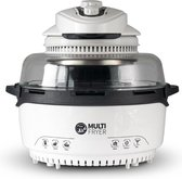 Molino Multi Fryer - Halogeen Heteluchtoven - Halogeenoven - 12-in-1 Airfryer - 1400 Watt - 11 Liter