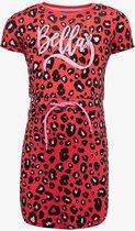 TwoDay meisjes jurkje met luipaardprint - Roze - Maat 122/128