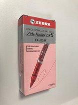 Zeb -Roller DX5 Rood Roller-ball pen