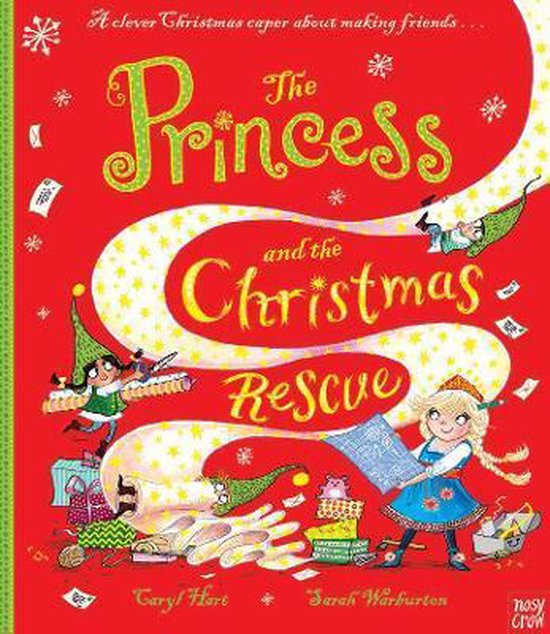 Omslag van The Princess and the Christmas Rescue