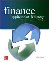 Boek cover Finance van Marcia Cornett
