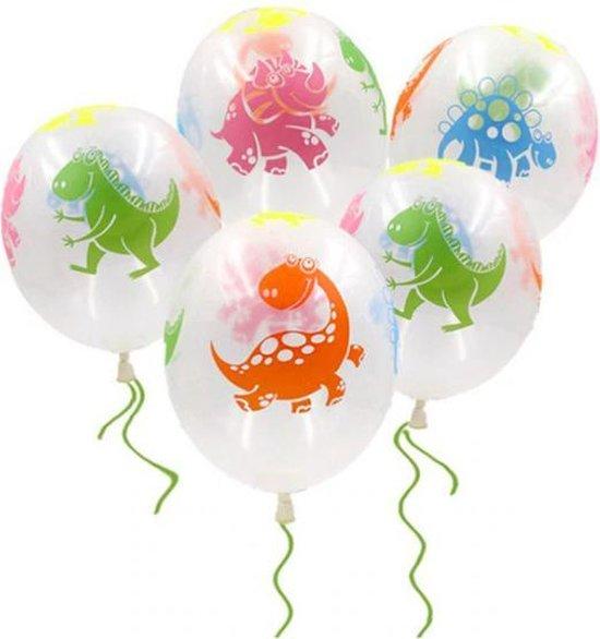 ProductGoods - 10x Dinosuarus Ballonnen Verjaardag -Verjaardag Kinderen - Ballonnen - Ballonnen Verjaardag - Dino - Dinosaurus - Kinderfeestje