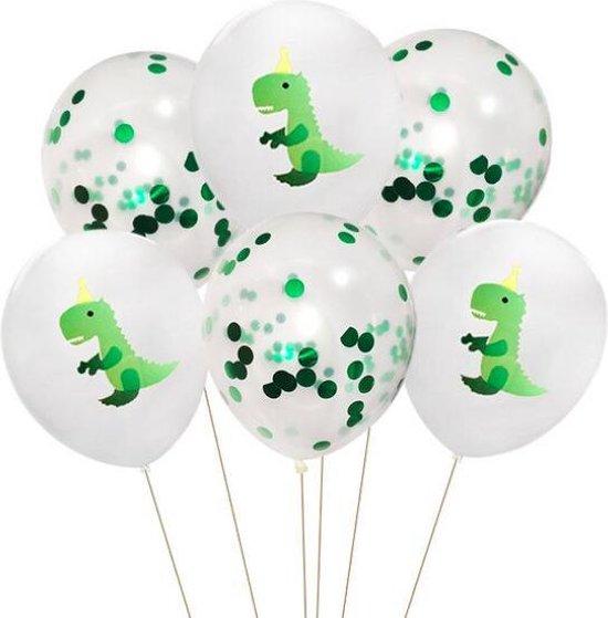 ProductGoods - 10x Dinosaurus 2 Ballonnen Verjaardag - Verjaardag Kinderen - Ballonnen - Ballonnen Verjaardag - Dino - Dinosaurus - Kinderfeestje
