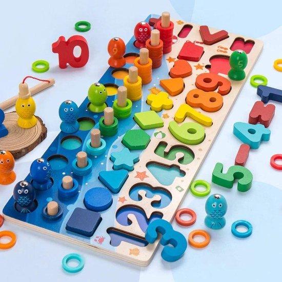 Afbeelding van het spel 101 delig leerbord kind - Voor het leren van cijfers/kleuren/tellen