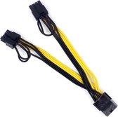 GPU 8Pin to 2*8Pin (6+2) Pcie video card VGA Hub Power kabel ETH Ethereum Mining