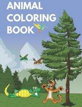 Animal Coloring Book: Kids Coloring Books Animal Coloring Book