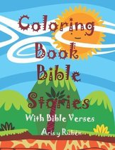 Coloring Book Bible Stories