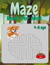 Maze Book for kids 4-8 age