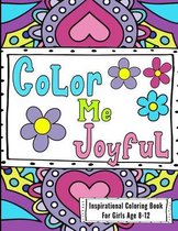 Inspirational Coloring Book For Girls Age 8-12