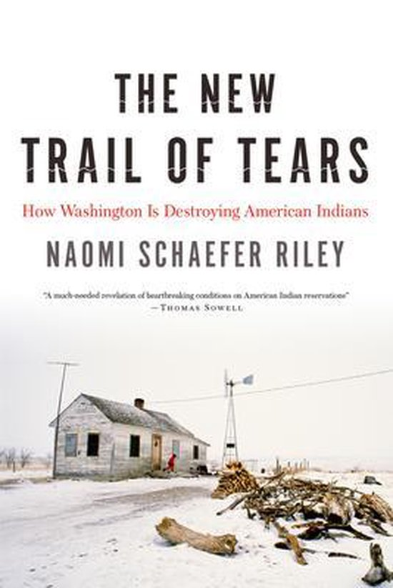 Boek cover The New Trail of Tears van Naomi Schaefer Riley (Paperback)