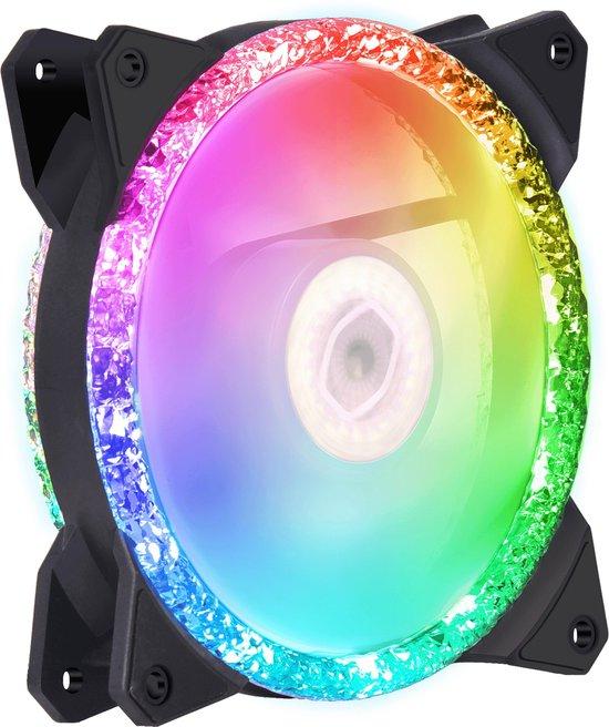 COOLERMASTER MasterFan MF120 Prismatic RGB Triple Pack