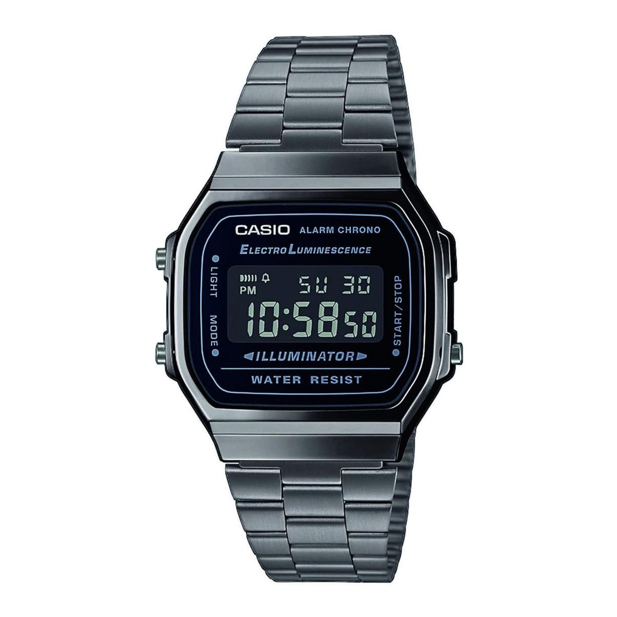 Casio VIntage Iconic Horloge - A168WEGG-1BEF - Unisex - Horloge - 39 mm