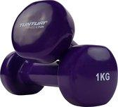 Tunturi Dumbell set - 2 x 0,5 kg - Vinyl - Roze