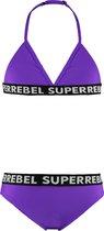 SuperRebel Kids Meisjes Bikini - Maat 10/140