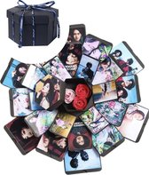 Explosion Box - Inclusief Videohandleiding - Explosie Foto Doos - foto doos - foto box - Gift Box -  liefdes cadeau - cadeau voor hem - cadeau voor haar - Cadeau voor man - Cadeau voor vrouw