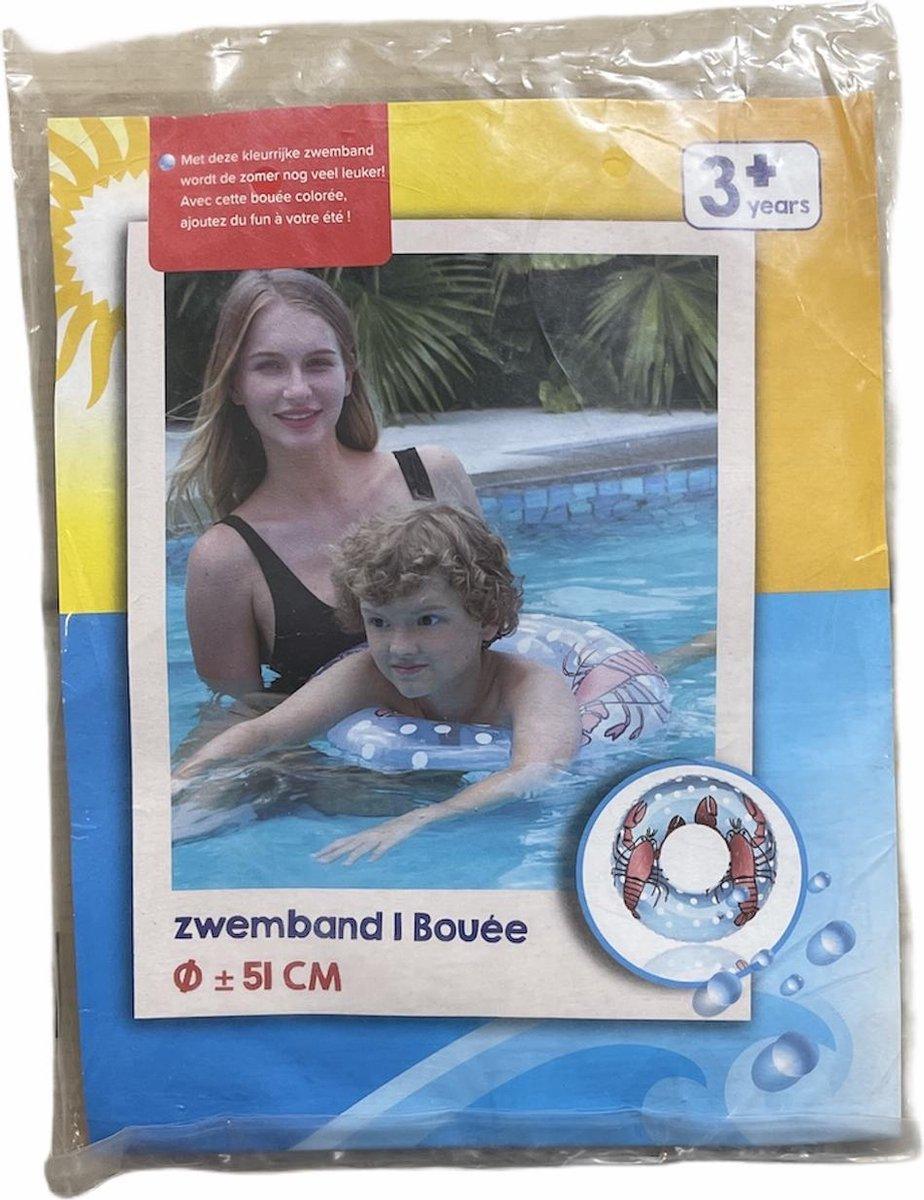 Kreeftzwemband | Zwembad | Zee | Zwemband | 51cm