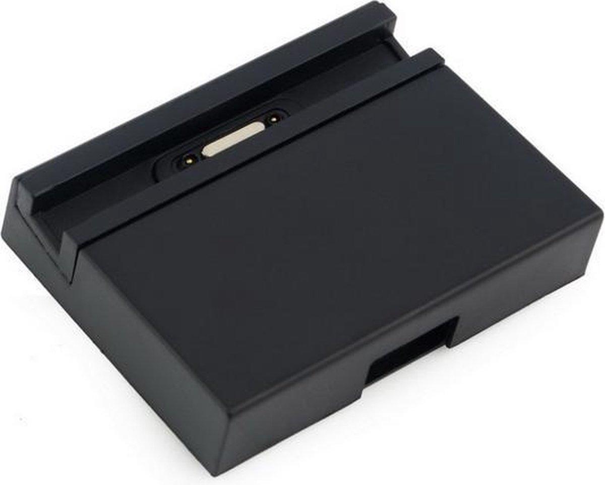 Dock voor Sony Xperia Z3 DK48 / Docking Station / Charger Oplader USB / Zwart