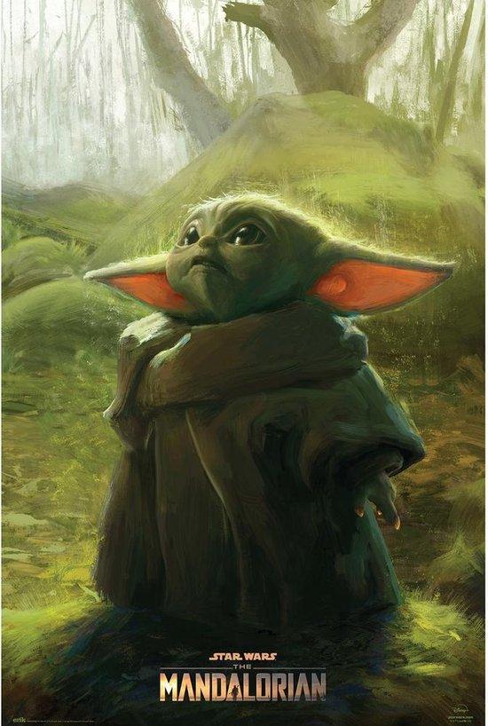 Mandalorian poster The Child Yoda Star Wars 61 x 91.5 cm.