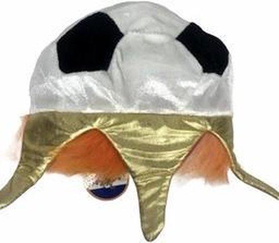 Oranje Voetbal kroon/hoed | Feestartikelen voor EK Voetbal 2021