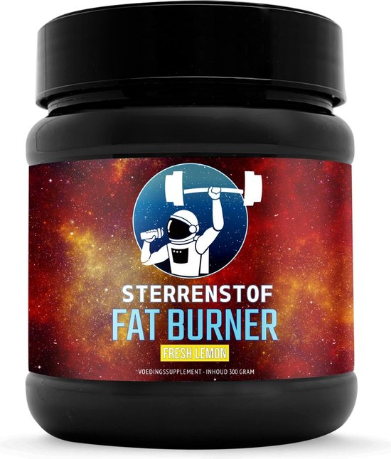 Sterrenstof Fat Burner - Fresh Lemon - 50 servings - Poedervorm - Afvallen