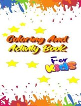 Coloring and Activity Book For Kids