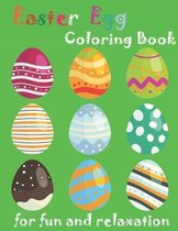 Easter Egg Coloring Book for fun and relaxation