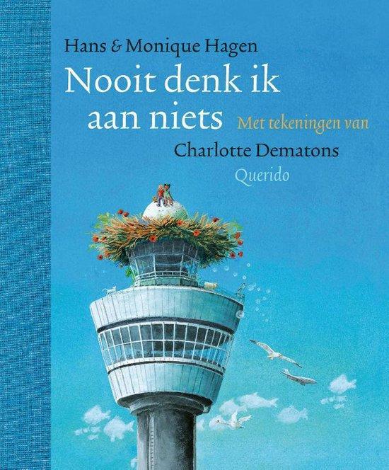 Boek cover Nooit denk ik aan niets van Hans & Monique Hagen (Hardcover)
