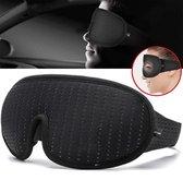 VITAMO™ Ergonomisch 3D Slaapmasker - 100% Verduisterend Oogmasker - Verstelbaar - Unisex - Traagschuim - Blinddoek - Cadeau Tip - Zwart