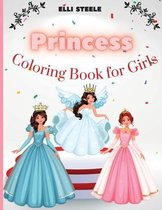 Princess Coloring Book For Girls