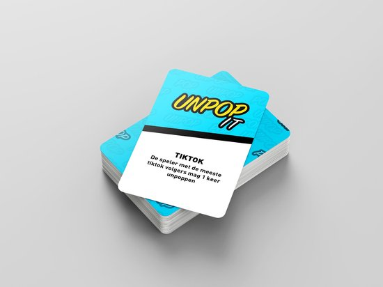 ZTWK© - Fidget toys pop it - Fidget toys + 1 pea popper - + unpop it kaartspel + mesh and marble