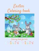 Easter Coloring Book: Coloring book for kids