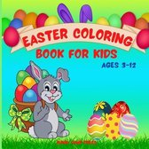 Easter Coloring Book for Kids Ages 3-12
