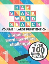 Haystack Word Search - LARGE PRINT edition