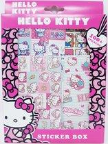 HELLY KITTY STICKERS - 100 + STICKERS IN EEN DOOSJE - Multicolor