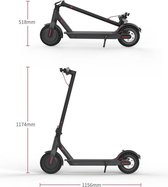 Elektrische Step voor volwassenen - Gogizmo Pro 1 - Maximale Snelheid 30km/h - 350 Watt Motor - Zwart