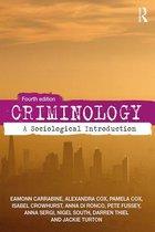 Boek cover Criminology van Eamonn Carrabine (Paperback)