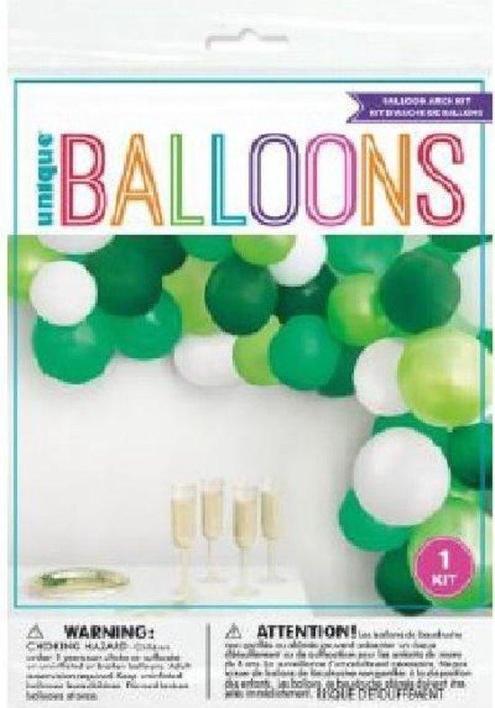 Kit ballonnenboog – ballonnenslinger Jungle groen set