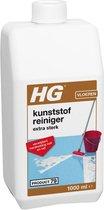 HG kunststofreiniger extra sterk (product 79) - 1L - voor alle soorten kunststof vloeren