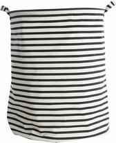 House Doctor Stripes - Wasmand - Streep - Wit, Zwart