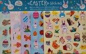 150 Paasstickers 5 vellen - leuke stickers voor Pasen om eieren te versieren of te plakken voor kinderen - kleuren stickers Paasdecoratie paaseieren paashaas - gekookt ei sticker