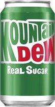 Mountain Dew Real Sugar (24 x 0,355 Liter blik)